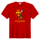 T-SHIRT EHF CHAMPIONS RED