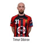 HC VARDAR Home Jersey Timur Dibirov