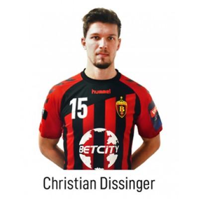 HC VARDAR Home Jersey Christian Dissinger