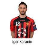HC VARDAR Home Jersey Igor Karacic