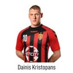 HC VARDAR Home Jersey Dainis Kristopans