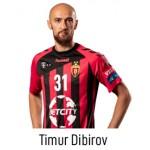 HC VARDAR Home Jersey Dibirov